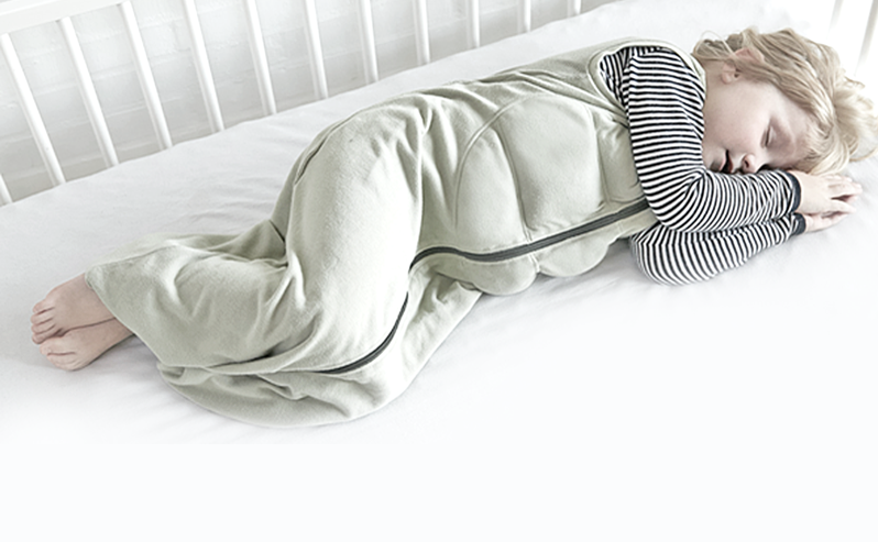 Weighted sleeping bag